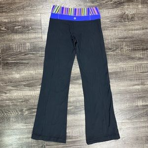 LULULEMON ATHLETICA Black Groove Crop Pants